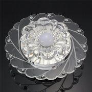 3 W Modern Crystal Ceiling Blue Light Superior Lamp Lighting Fashion Chandelier Living Room Home Dec