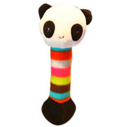 Dog Toys Pet Puppy Chew Squeaker Squeaky Plush Sound Toys Lion Panda Giraffe 3 Designs