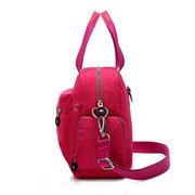 Damen Nylon Lässige tragbare wasserdichte Handtasche Schulter Taschen Crossbody Taschen Rucksack