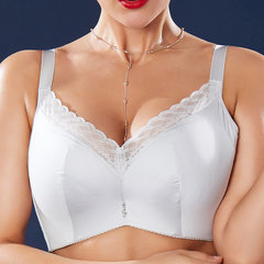 J Cup Plus Size Push Up Lace-trim Side Support Bras