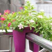Vasi per fiori Fioriere per vasi Fiori per giardino Balcone Decorazioni per esterni
