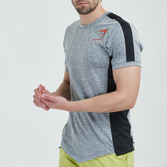 Mens Sommer Mesh Breathable Fitness Laufen Jersey T-Shirts