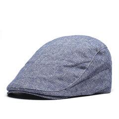 Chapéu Unissex Flexível Chapéu de Boina Para Primavera e Verão Outdoor Boina Respirável Com Aba