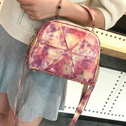 Women Patchwork Gradient color Shoulder Bags Crossbody Bags