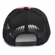 Men Women Hip Hop Shark Mouth Print Visor Baseball Cap Mesh Hats