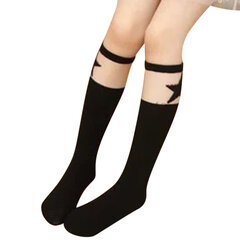 Lovely Cute Cartoon Kids Knee Length Socks For 2Y-12Y