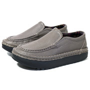 Genuine Leather Slip On Lazy Casual Shoes