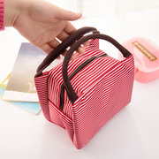Oxford Lunch Tote Bag Handbag Zipper Storage Waterproof Containers Picnic Pouch Bag