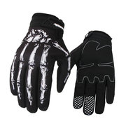Mens Women Ghost Claw Motorcycle Full-finger Gloves Outdoor Sport Anti-skid Breathable Gloves