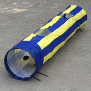Pet Cat Tunnel Tube Kitten Cat Rabbit Puppy Collapsible Hide See Fun Toy Tunnels