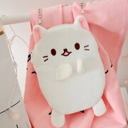 Cartoon Cute Lovely Style Plush Shape Chain Crossbody Bags Phone Bag