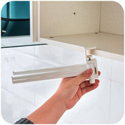 Plastic Ambry Hanging Towel Holder Hook Rotating Free Nail Multi-Functional Sundry Kitchen Bathroom