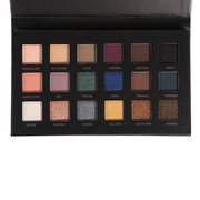 18 Farben Lidschatten-Palette Matt Schimmer Pulver Erde Smoky Eyes Make-up