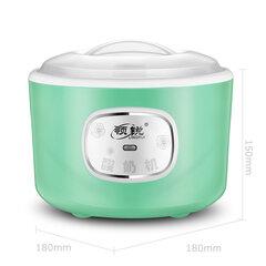 220V de aço inoxidável fabricante de iogurte automático DIY delicioso aparelho de iogurte