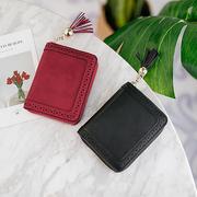 Женская полая мини-кошелек 20-карточный слот-держатель