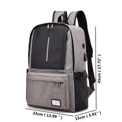 Oxford Multi-functional Large Capacity 16 Inch Laptop Bag Backpack For Men