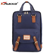 KAUKKO Men Nylon Casual Backpack Outdoor Computer Shoulders Bag Handbag
