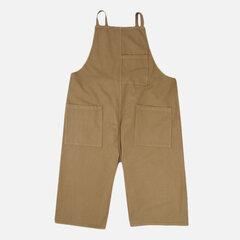 Mens Vintage Multi Pockets Loose Overalls Einfarbig Lässige Hosenträgerhose