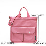 Women Canvas Leisure Handbags Large Capacity Lightweight Crossbody Bag
