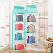 Tidy Organizer Storage Wardrobe Closet  Dustproof  Hanger Bags Storage Bags
