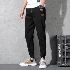 Saison nouvelle taille élastique Jeans hommes grande taille sarouel sarouel Tide Fat Stretch Slim neuf pantalons Bundle Feet