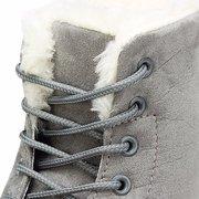 Mantenere i calzoni piatti caldi della caviglia