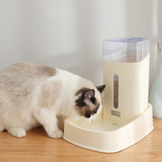 Cat Dog Automatic Feeder Pet Bowl Automatic Water Dispenser Water Bowl