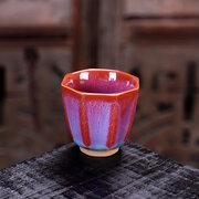السيراميك فرن المينا فنجان كوب الشاي المصنوعة يدويا السلطانية هدية عظيمة الكونغ فو وعاء الشاي