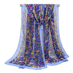 160CM Echarpe à la mode Foulard mignonne chouchou Écharpes pour les femmes Echarpe à l'écharpe à l'automne écharpe à l'automne