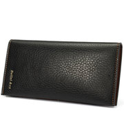 Men Business Casual Large Capacity Long Wallet Leisure Outdoor Cash Cards Purse