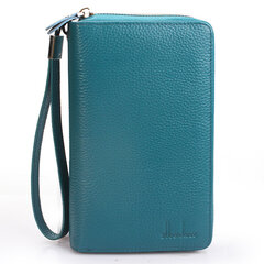 Men And Women High-end Genuine Leather 118 Card Slot Large Capacity Long Wallet