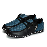 Big Size Men Quilted Comfortable Low-top Sport Casual Shoes