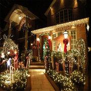13 متر 120 قطع الصمام عطلة عطلة حزب عيد الميلاد حديقة سلسلة أضواء ديكور المنزل