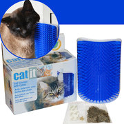 Pet Products Cats Supplies Massage Device Self Groomer Furniture Scratching Post