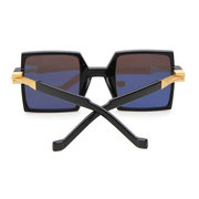 Women Colorful Square Large Frame Anti-UV Glasses Outdoor Travel Leisure Sunglasses