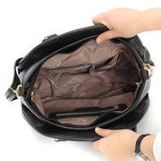Clutch della borsa di cuoio dell'unità di elaborazione del plaid di 2pcs elegante delle signore Borsa spalla Borsas