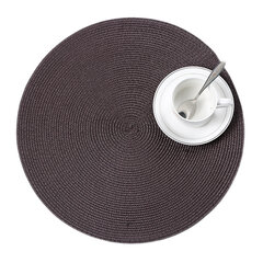 Large 38cm Woven Tablemat Placemat Heat Resistant Dinnerware Mat Pad Kitchen Dishes Drying Mat