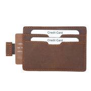 Vintage Genuine Leather RFID Antimagnetic Wallet Cold Holder