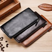 Men Business PU Leather Mobile phone bag