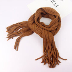 Warm Wool Soft Kid's Tassel Design Winter Scarf For 1-12 Years