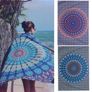210x145cm Indiano etnico Mandala Wall Hanging Tapestry Throw Mat Bohemian Dorm copriletto
