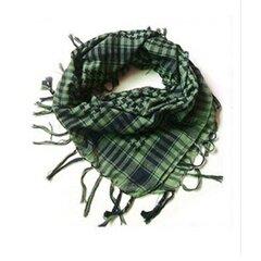 Мужчины Арабский Шема Кефия Военный Палестинский шарф Сетка Шали Обертывания