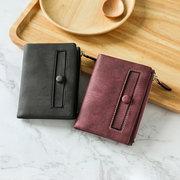 Porte-cartes portefeuille femme couleur petit portefeuille court court
