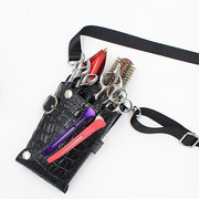 Crocodile Pattern Hairdressing Kit Crossbody Bag