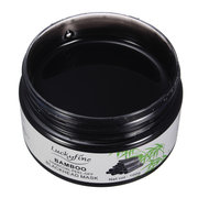 LuckyFine Black Mask Carvão de bambu Peel-off Blackhead Deep Cleansing With Mirror Spoon