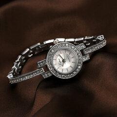 Fashion Style Crystal Women Wrist Watch Elegant Design Full Steel Quartz Watch