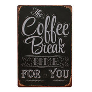 Shots Menu Cafe Bar Pub Wall Decor Metal Sign Vintage Home Decor Tin Plaque Coffee Metal Poster