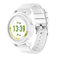 Full HD IPS Circular Screen HR Monitor Multi-language Sport Mode Fitness Tracker Smart Watch