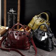 Femmes Vintage PU sac à main en cuir sac à bandoulière formelle