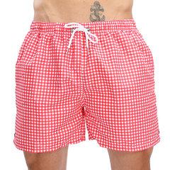 Mens Plaid Printed Sommer dünne schnell trocknend atmungsaktiv Casual Board Shorts